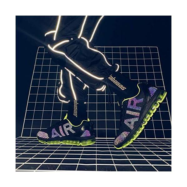 Homme Femme Chaussures de Sport Baskets Course Running Sneakers Respirantes et Légères