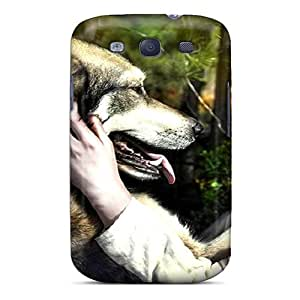 Hot The Wolf Red Riding Hood First Grade Tpu Phone Case For Galaxy S3 Case Cover