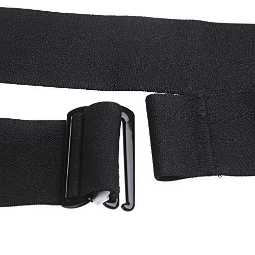 SODIAL(R)Chest Belt Strap for Polar Wahoo Garmin for Sports Wireless Heart Rate Monitor