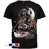 Star Wars - House Of Vader 3D T-Shirt Large Black