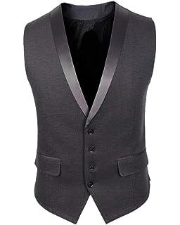 93402b98e730f Hommes Mens Costume Blazer Gilet Costume Veste Couleur De Contraste ...