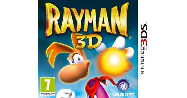 Ubisoft Rayman 3D, 3DS - Juego (3DS, Nintendo 3DS, Plataforma, 24/03/2011): Amazon.es: Videojuegos