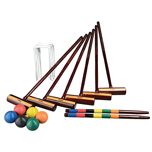 - Franklin Sports Expert 6 Player Croquet Set