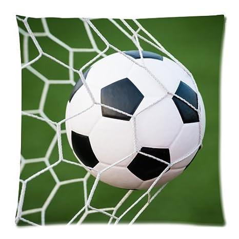 Fashion fundas de almohada vintage cool Balón de fútbol Arte ...