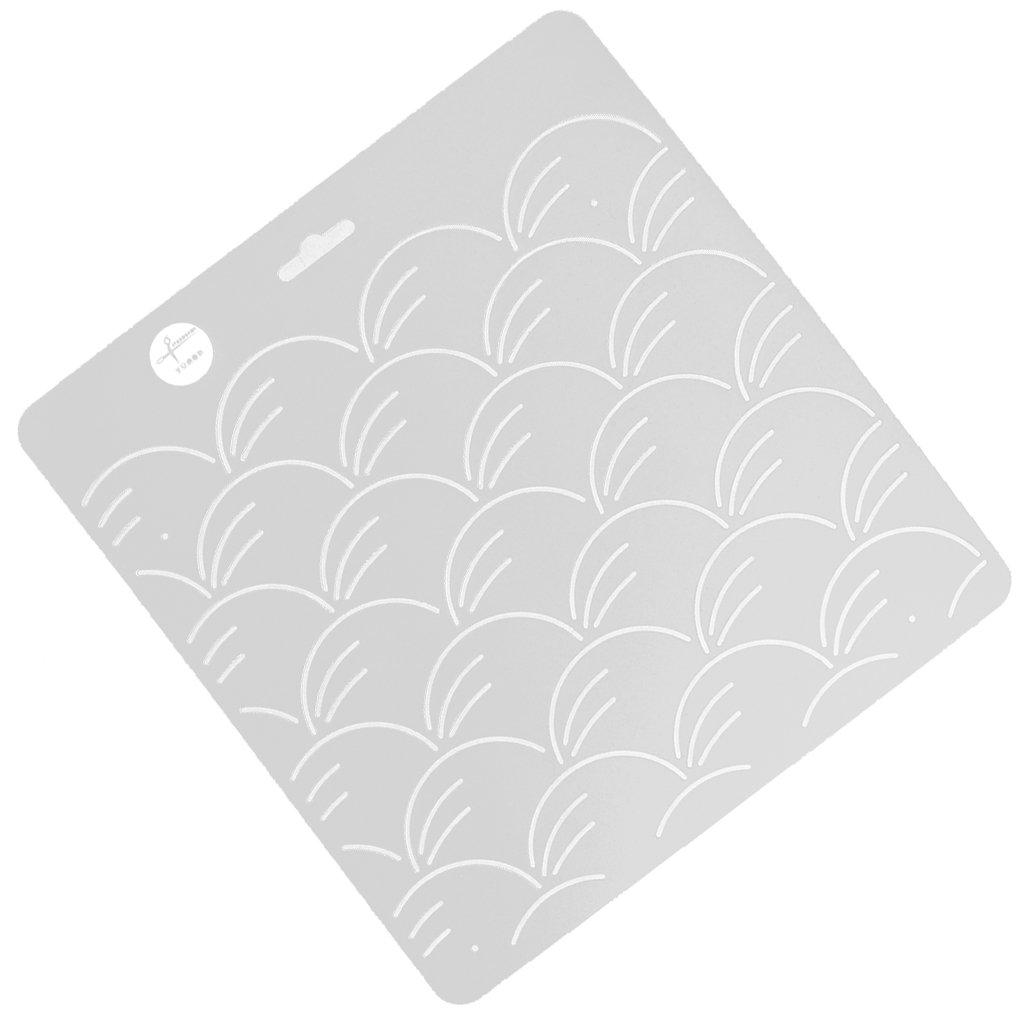 Magideal Strumento Modello Quilting Trapunta Di Plastica Trasparente Stencil Per La Pittura Patchwork # 1 - Klar1