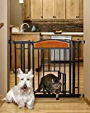 Image of Carlson Pet Products Design Studio Home Decor Walk Through Pet Gate