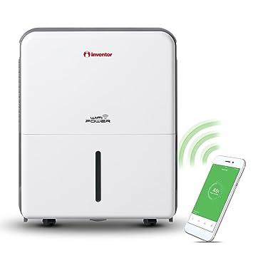 Inventor Power Wifi, 25L/Jour Déshumidificateur D'Air, Absorbeur D
