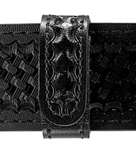 Safariland Duty Gear Hidden Snap Belt Keeper (Basketweave Black, single unit) (Snap Keeper Hidden Belt)