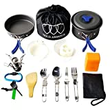 Be Prepared for All Your Camping, Hiking or Backpacking Adventures and Equip Yourself with the #1 Camping Cookware Mess Accessories Kit Are you tired of eating canned and dehydrated food on all your camping, hiking and mountaineering adventur...