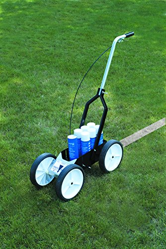 Athletic Specialties Field Striping Machine Holds 6 Extra Spray Cans (Baseball Field Lining)