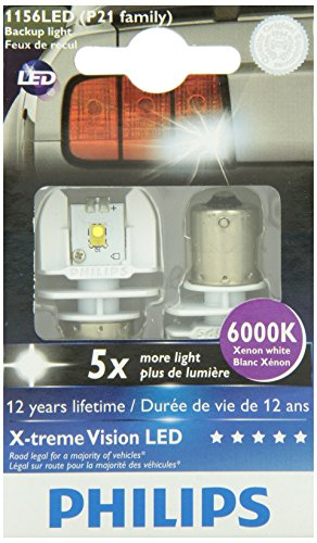 Philips 1156 P21W White X-tremeVision LED Exterior light (Pack of 2)