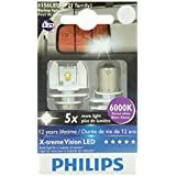 Philips (12898X2) White P21 LED Exterior Bulb
