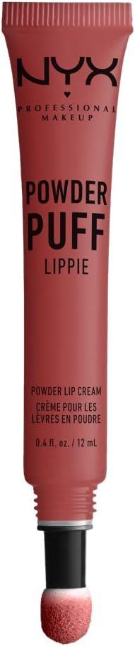 NYX PROFESSIONAL MAKEUP pintalabios mate larga duración Labial Poowder Puff Lippie Lip Cream Tono 8