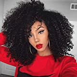 CYNOSURE 4 Bundles of Brazilian Hair Kinky Curly Weave Extensions 7A Brazilian Curly Virgin Hair Natural Color Jerry Curl Weave Human Hair (10 12 14 16)