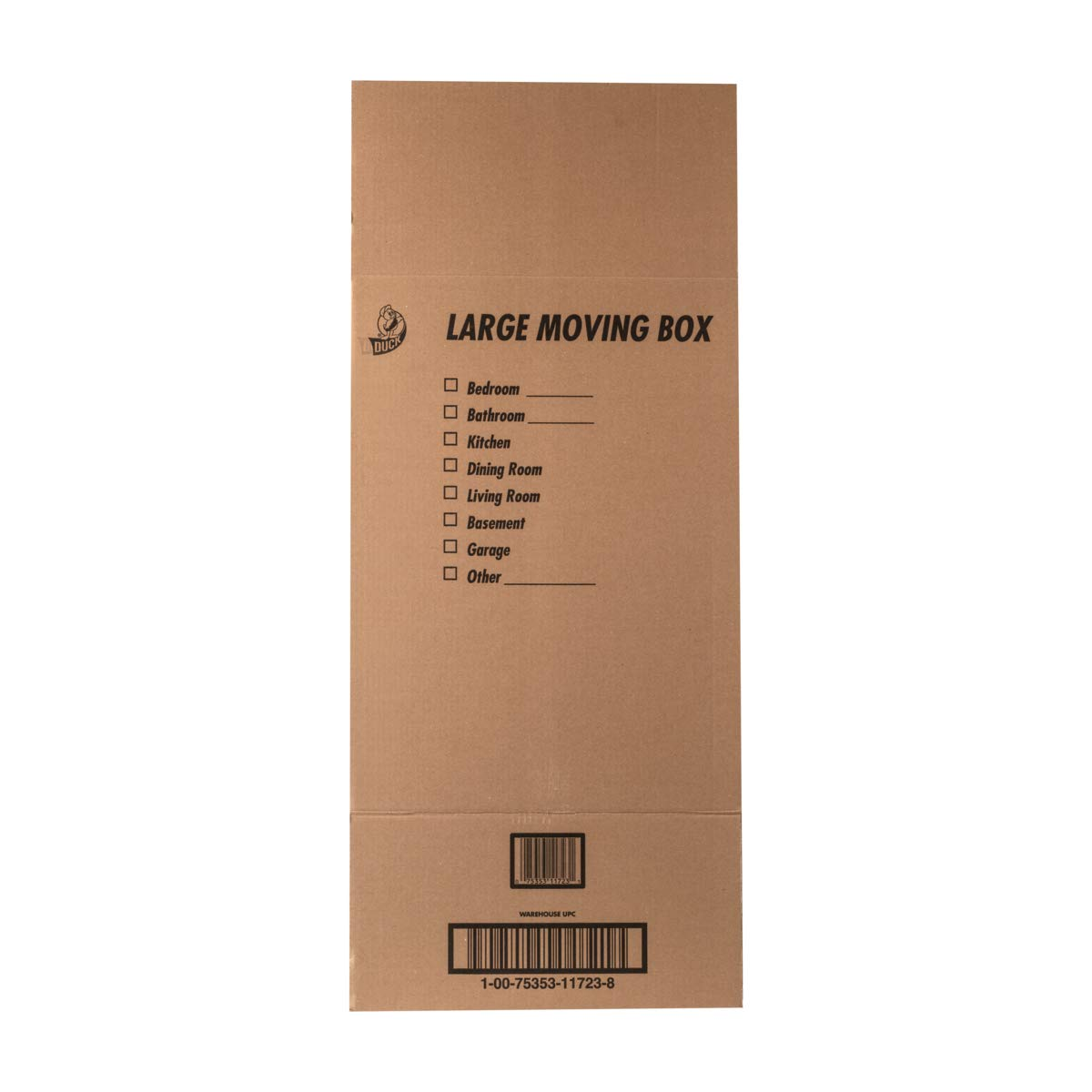 Brown 1139734 18 x 18 x 24 Duck Brand Kraft Corrugated Shipping Boxes 6-Pack
