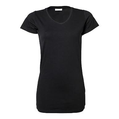 64ba087cf8ed Tee Jays Damen Long Tee Stretch T-Shirt Extra 455  Amazon.de  Bekleidung