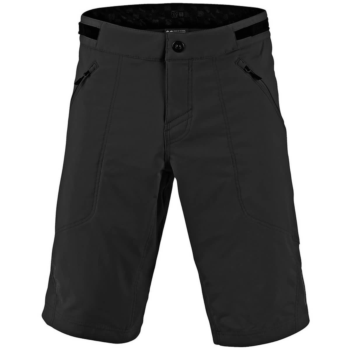 Troy Lee Designs Skyline Short - Boys' Solid Black, 22 by Troy Lee Designs