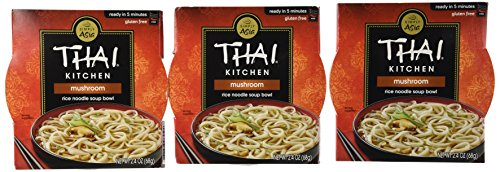 Thai Kitchen Mushroom Medley Noodle Bowl, 2.4000-Ounce (Pack of (Thai Kitchen Bowl)