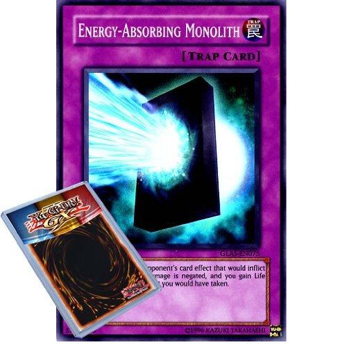 Yu-Gi-Oh : GLAS-EN075 1st Ed Energy-Absorbing Monolith Super Rare Card - ( Gladiators Assault YuGiOh Single Card ) by Yu Gi Oh