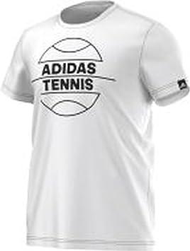Tennis Ball Fabricant T HommeBlancFrtaille Shirt Adidas 13FJcTluK