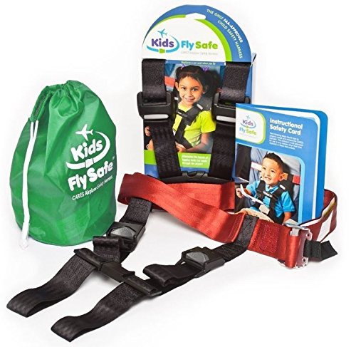 Child Airplane Travel Harness - Cares Safety Restraint System - The Only...