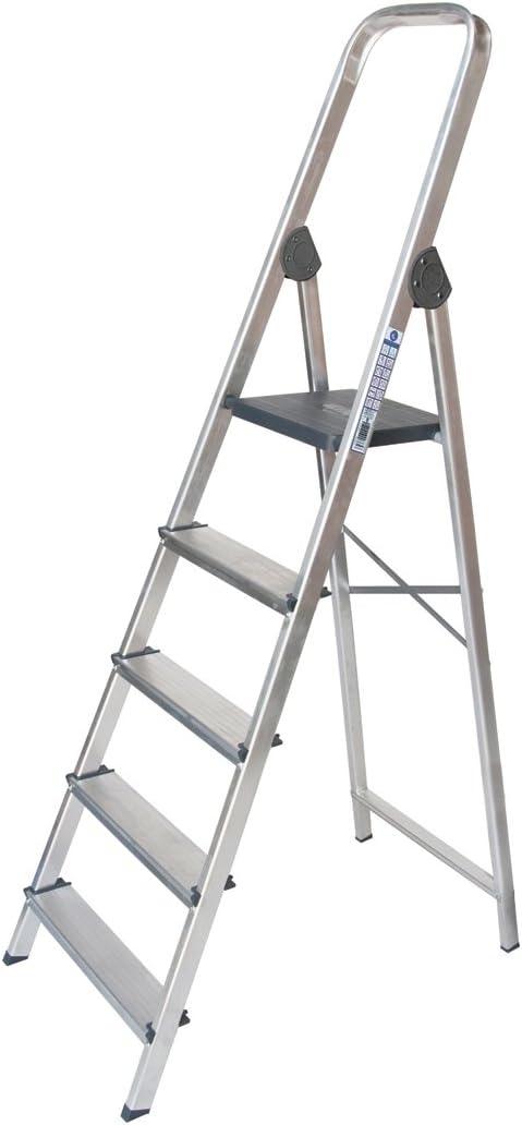 PROFER HOME - Escalera Aluminio 3 Peldaños Profer Home: Amazon.es: Bricolaje y herramientas