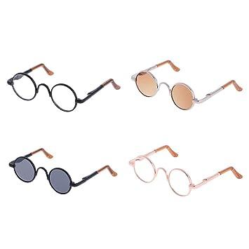 Amazon.es: KESOTO 1/3 Mini Gafas de Sol en Miniatura ...