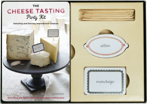 Party Kit Tasting Cheese (The Cheese Tasting Party Kit)