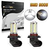 04 f250 fog lights - Partsam TWO 9005 HB3 9040 Cool White 800Lumens Fog Driving Light Epistar 5730 Chip Projector Vehicle Led