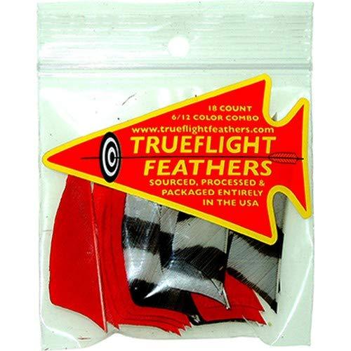 Trueflight 30932 Red 18-Pack Archery Hunting Right Wing 5