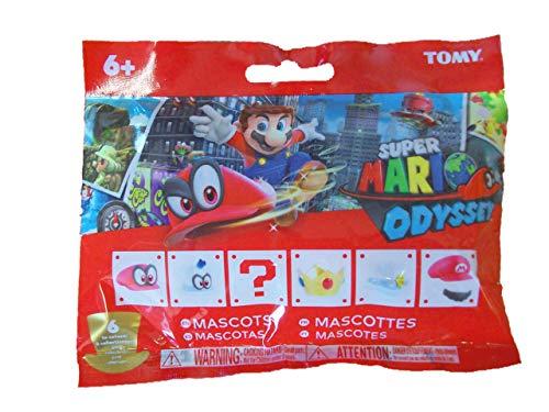 Super Mario Odyssey Mascots Cappy Bottle Cap Blind Bag (Super Mario Mascot)
