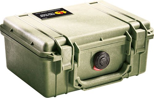 1150 Dry Box - Pelican 1150 Case With Foam (OD Green)