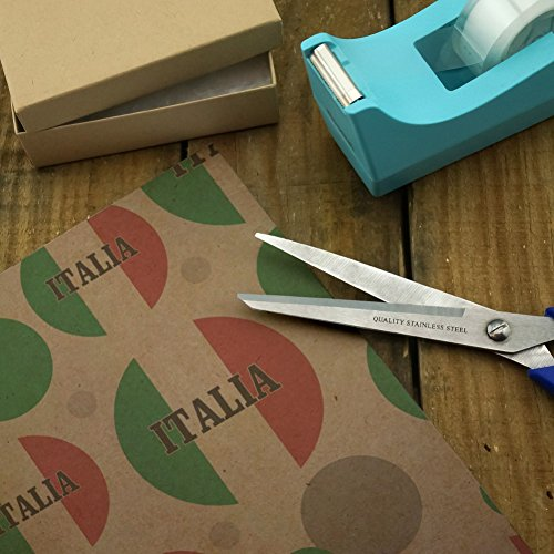 Italia Italy Italian Flag Premium Kraft Gift Wrap Wrapping Paper Roll by Graphics and More (Image #2)