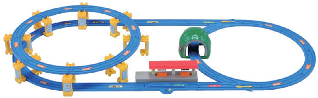 Rail set is full of! Seal learn playing Pla (japan import)