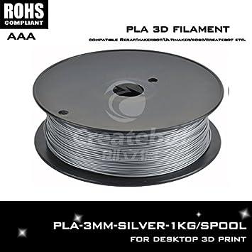 ARBUYSHOP color plata 3d impresora kit de filamentos pla 3mm ...