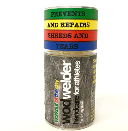 Callus Repair Hand Care Treatment Salve By WOD Welder - For Fitness Athletes, Gymnastics, Weightlifters, and Rock Climbing - Heals Rips and Tears, No Shaver Speeds Recovery - Smells Great, All Natural by w.o.d welder