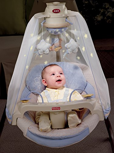 Fisher-Price Papasan Cradle Swing, Starlight by Fisher-Price (Image #3)