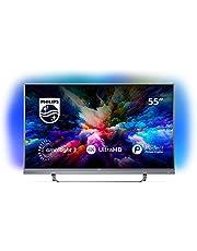 """Philips 55PUS7503 Smart TV UHD 4K, da 55"""", Android, Ultra Slim, Ambilight, anno 2018"""