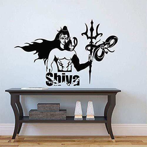 mlpnko Carácter de la mitología India Shiva Arte Decorativo Vinilo ...