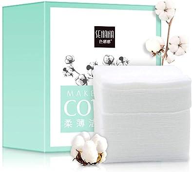 Piel limpia Almohadilla de algodón desechable de doble efecto ...