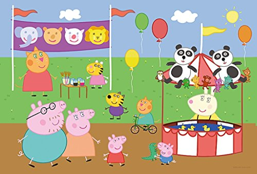 (Peppa Pig - 20 pcs Color Jigsaw/ Puzzles by trefl)