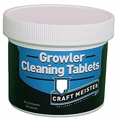 Growler Cleaning Tablets (25 count)