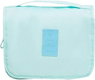 Hunpta@ Nouveau Tissu sergé Oxford Chiffon Sac de Cintre à Suspendre Pliable Trousse de Toilette Sac de Voyage
