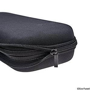 Eco-Fused Stethoscope Case - Fits: 3M Littmann, MDF, ADC, Omron, etc. - Large Mesh Pocket for Accessories - Strong Nylon Material - Protects your Stethoscope - Prevents Bents and Dents - Black