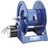 Coxreels 1125PCL-8-ED Electric 12V DC Explosion Proof 1/2HP Motor Rewind Hose Reel: 12 AWG, 3 Conductors, 250' cord capacity, less cord, 600V, 30 AMPS