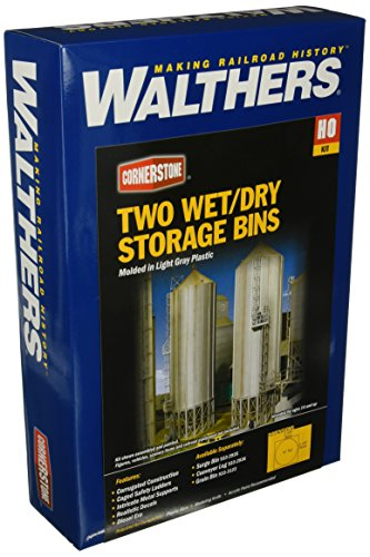 Walthers HO Scale Cornerstone Series174 Modern Grain Series