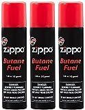 Zippo Premium Butane Fuel 1.48 oz - 3 Pack