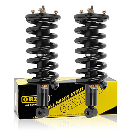 2019 Shock Absorber - OREDY Front Pair Complete Struts Assembly Shocks Absorber Replacement for Nissan TITAN 2004-2015 and 2017-2019#11300 171358 ST8605 G57092 853319 9214-0126