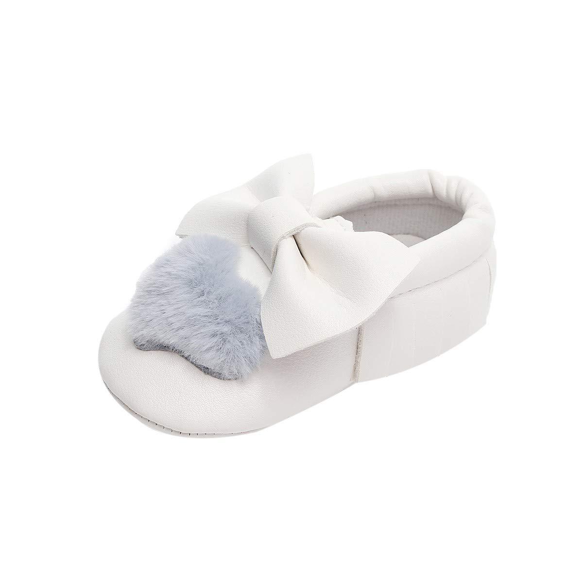 EG/_ Toddler Baby Girl Rabbit Soft Soles Anti-Slip Prewalker Crib Shoes Gift Calm