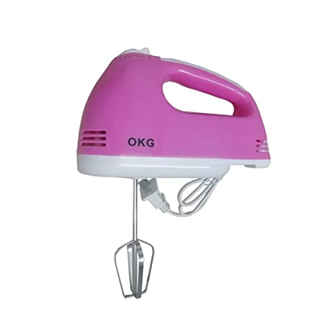 Amazon.com: OKG Hand Mixer For Kitchen & Dining, 180W Power ...